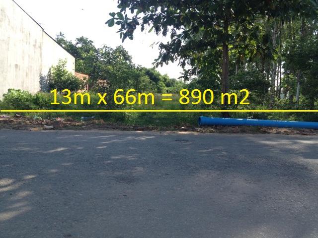 bán 890 m2 đất mặt tiền nguyễn thị lắng Củ Chi xã Tân Phú Trung giá 1 tỷ 300 triệu