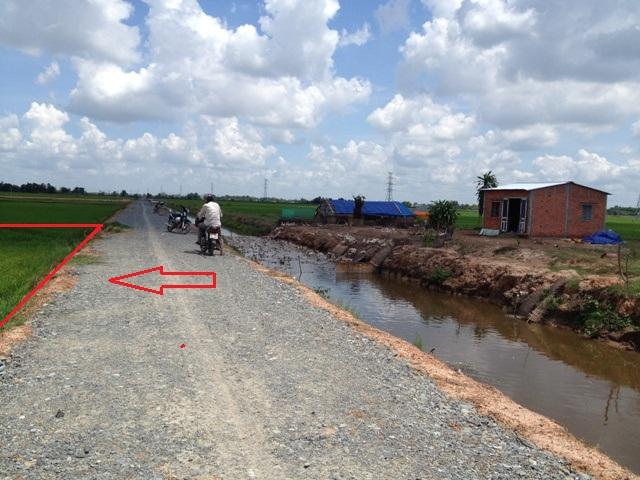 Bán 2800m2 đất làm trang trại xã Phước Thạnh – H.Củ Chi. Giá 350 triệu .