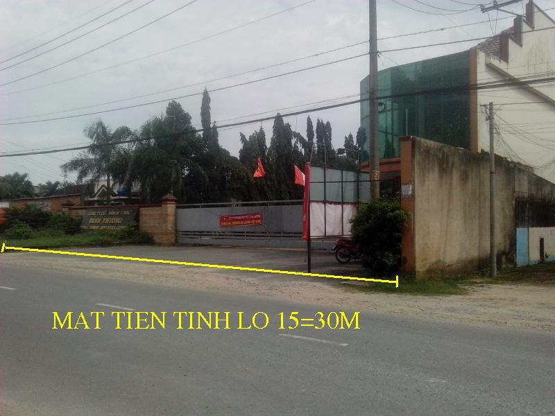 Bán 7.875m2 nhà xưởng mặt tiền tỉnh lộ 15 xã Phú hòa Đông,Củ Chi giá 22 tỷ