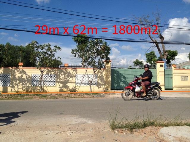 bán nhà đất thổ cư mặt tiền đường Nguyễn Thị Lắng- Tân Phú Trung 1.800m2 giá 4 tỷ 5