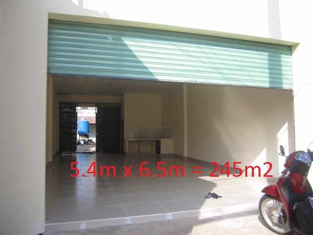 Bán nhà phố 19A mặt tiền đường Lê Văn Khương quận 12 tp HCM (245 m2) giá 6 tỷ