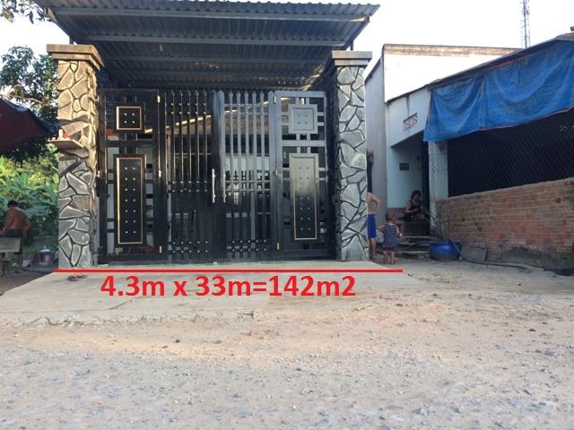 Bán nhà mới 142m2 xã Tân An Hội Củ Chi giá 2 tỷ