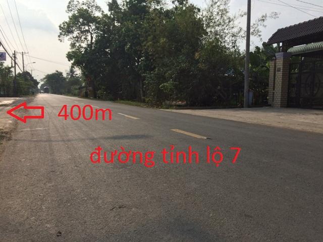 Đất thổ cư xây nhà vườn biệt thự đường nhựa xã Thái Mỹ Củ Chi 3.100m2 giá 4 tỷ.
