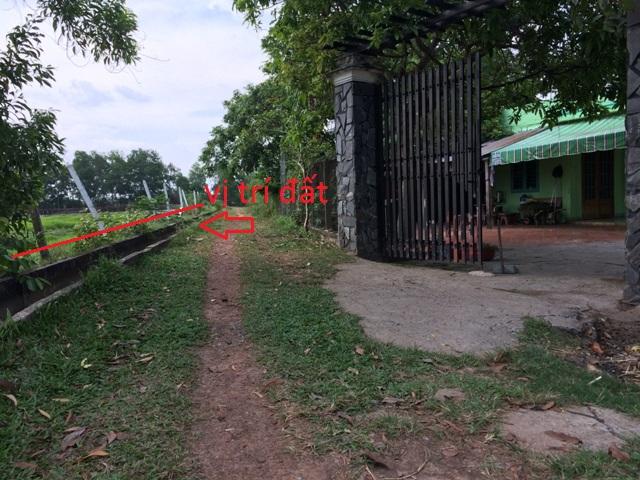 Bán đất khu dân cư Thái Mỹ Củ Chi ngang 22m x 54m(1.190m2 )giá 1 tỷ 4
