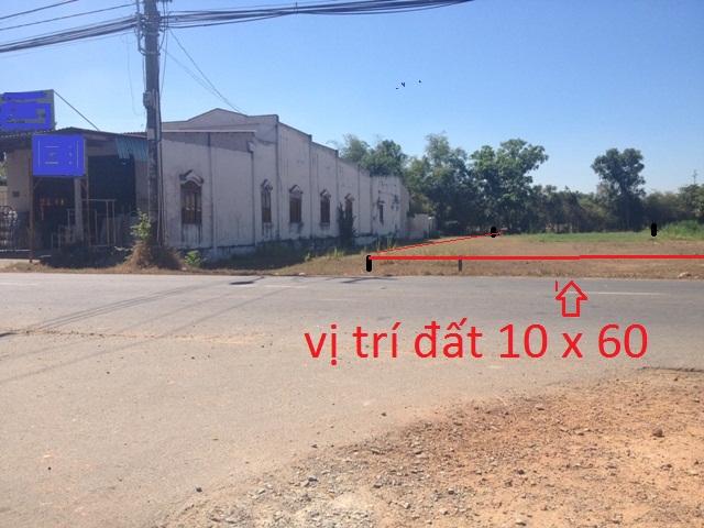 Bán 600 m2 đất mặt tiền đường tỉnh lộ 7 Củ Chi giá rẻ 680 triệu.