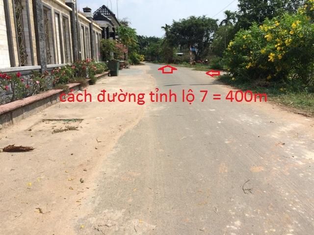 Đất thổ cư mặt tiền đường nhựa xã Thái Mỹ Củ Chi 3.100m2 giá: 4.5 tỷ.