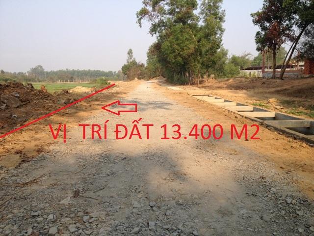 Bán 13.400m2 đất trang trại nuôi trồng mặt tiền đường đá sỏi Thái Mỹ,Củ Chi giá 140 ngàn /m2