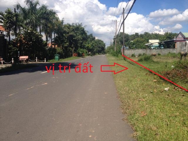 Đất mặt tiền đường tỉnh lộ 7 củ chi 30m x 52m = 1.635m2 giá 1 tỷ 7