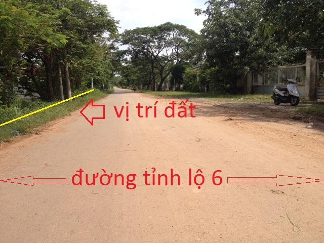 920 m2 đất mặt tiền tỉnh lộ 6 Củ Chi(20x45) giá 750 triệu