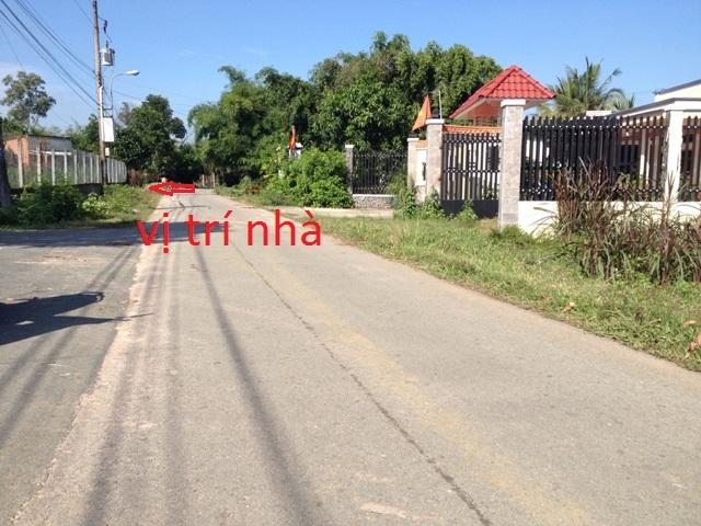 Nhà đất 600m2(10x60)đường nhựa Thái Mỹ Củ Chi giá 580 triệu.