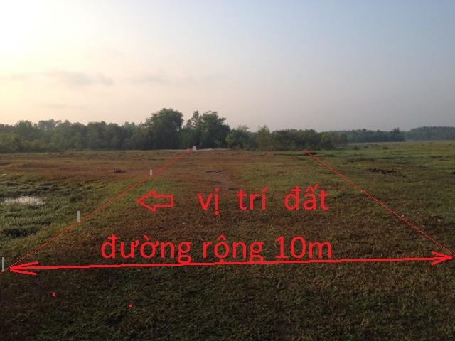 Bán đất vườn Củ Chi 470m x 85m= 40.000m2 giá 100 ngàn / 1m2