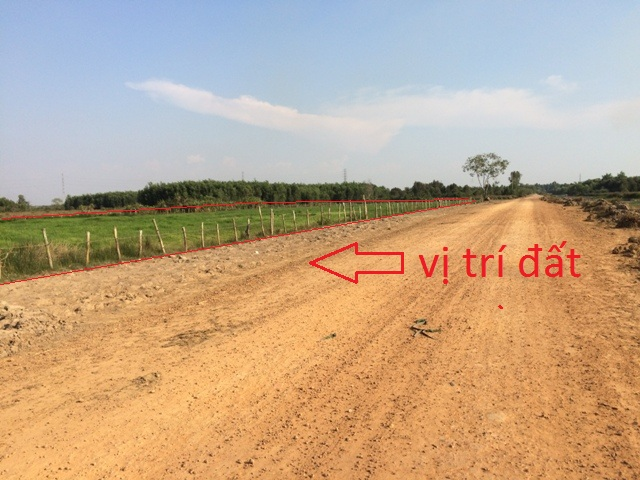 3.000m2 đất nông nghiệp xã thái mỹ củ chi giá 580 triệu