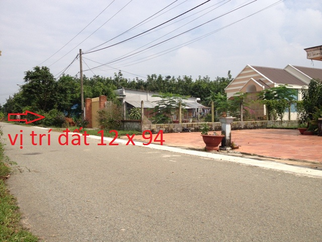 Đất thổ cư 1145m2 (300m thổ cư) Thái Mỹ -H.Củ Chi –TP.Hồ Chí Minh .Giá 800tr .