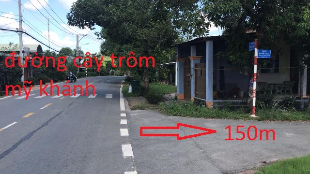 Bán Đất thổ cư mặt tiền đường nhựa Nguyễn thị Thi xã thái mỹ,Củ Chi 12x80(970m2) giá 2 tỷ 900 triệu
