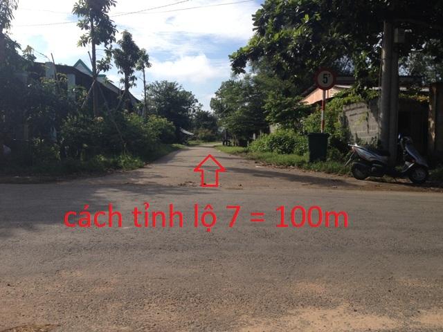 Đất nền đường nhựa 223m2 xã Thái Mỹ Củ Chi giá 250 triệu.