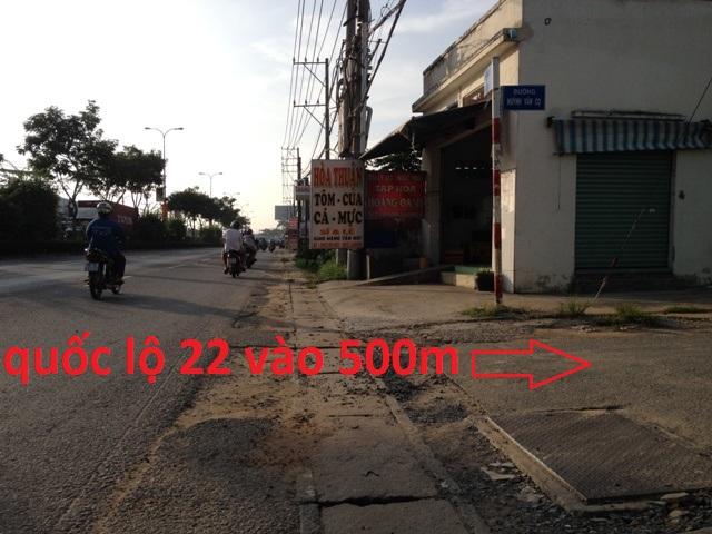 Bán nhà số 21C mặt tiền Huỳnh Văn Cọ khu phố 6 thị trấn Củ Chi (300m2)giá 2 tỷ 7