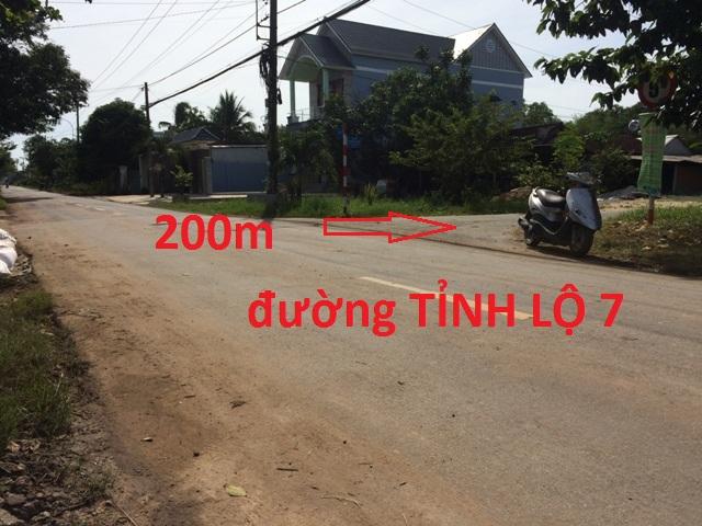 Bán 1.611m2 Đất thổ cư mặt tiền Phạm Thị Liền H.Củ Chi  giá 5 tỷ