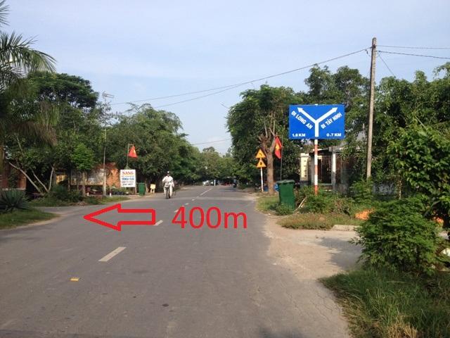 Bán Đất xây nhà ở 7x38 ( 261m2) xã Thái Mỹ Củ Chi tp Hồ Chí Minh giá rẻ 200 triệu