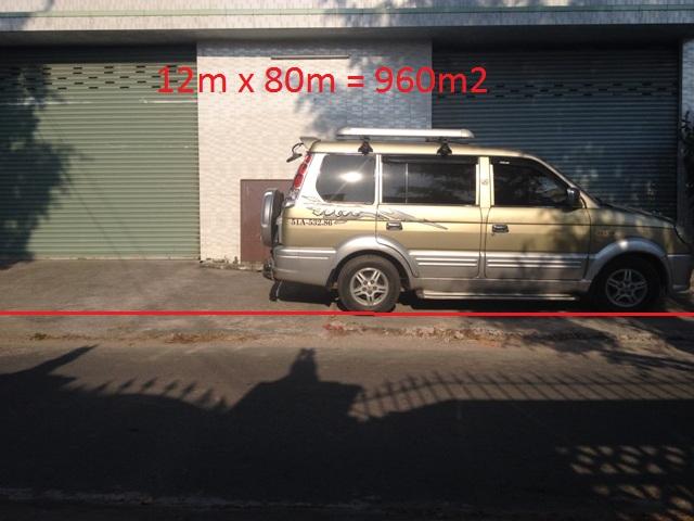 Bán nhà xưởng  12x80 hai mặt tiền đường nhựa xã Tân Thông Hội Củ Chi giá 4ty5