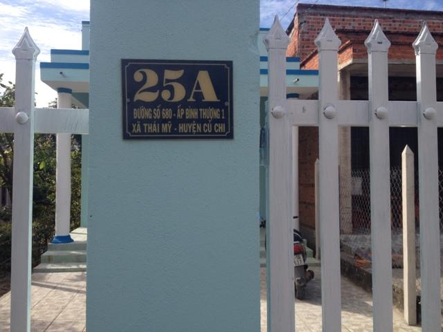Nhà 5x40 mặt tiền đường 680 Thái Mỹ,Củ Chi giá 360 triệu