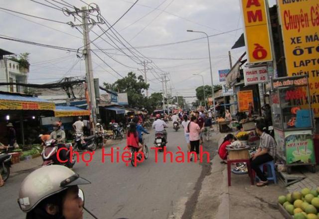 Bán nhà mặt tiền đường HT13 đối diện chợ Hiệp Thành quận 12 giá 7 tỷ 5